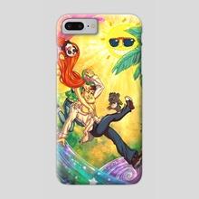 Tropical Wonderland - Phone Case by Enrico Guarnieri
