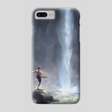 Waterfall Dancer - Phone Case by Allison Chin