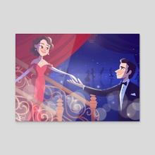 Pretty Woman Broadway Musical - Acrylic by Ariel Hsu