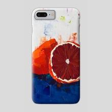 Blood of an Orange - Phone Case by Eric Buchmann
