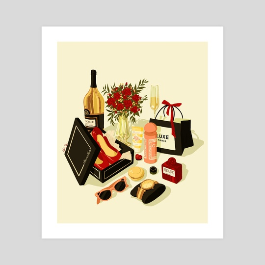 MATERIALISM by Natalie Shaw