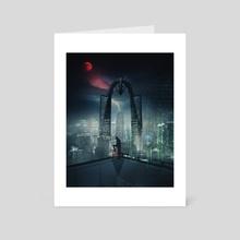 Nightscape - Art Card by Jonathan Abarca