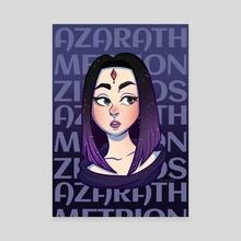 Raven - Canvas by Deb  Carolinyan