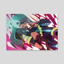Agent 3 - Acrylic by Miamitu
