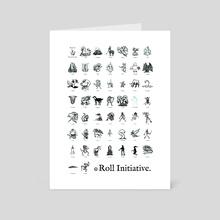 Random Encounters - Art Card by Alex Mitchell