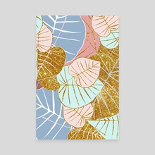 Floral Gold  - Canvas by 83 Oranges
