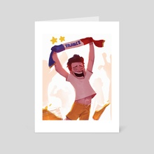 Champions - Art Card by Antoine Losty