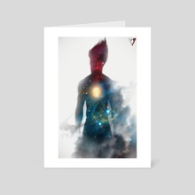 A distant memory  - Art Card by Samuel Iniguez