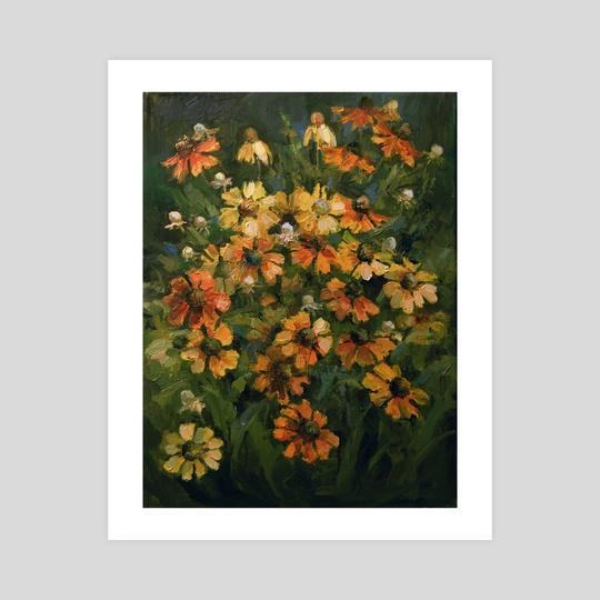 Autumn Flowers by Svetlana Kholodnyak