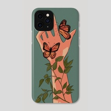 Bugs (inktober 2020) - Phone Case by Maria Teresa