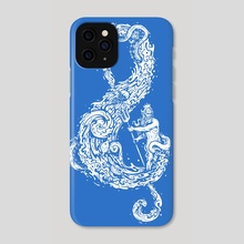 Sound of the Ocean - Phone Case by Enkel Dika