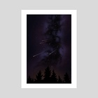 Smoky Milky Way - Art Print by Jessica Moritz