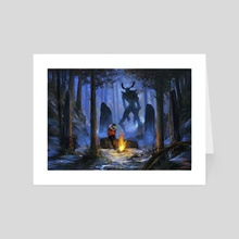 The Watcher  - Art Card by Alicia Lamburd