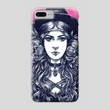 Young Witch - Phone Case by Maria Dimova
