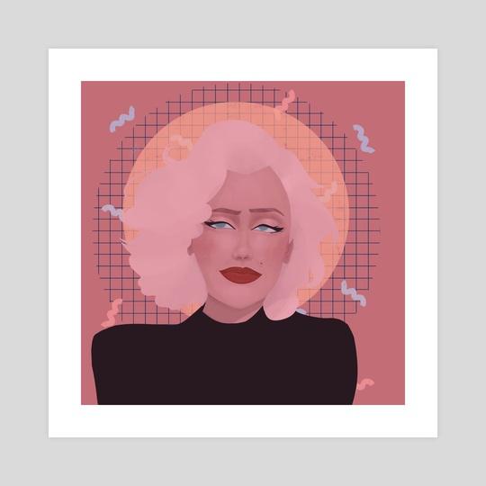 Marylin Monroe by Ana Filomeno
