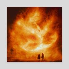 Pheonix - Canvas by Joey Mauldin