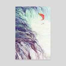 The Race - Canvas by Whitney Salgado
