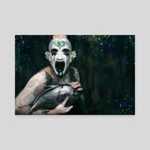 The mermaids Project - Aquario III - Canvas by Mercedes Viartola