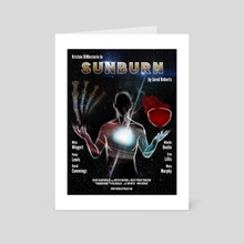 Sunburn - Art Card by Jörn Meyer
