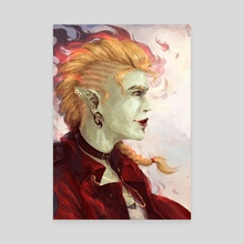 Lup Taaco - Soulmates - Canvas by Gin