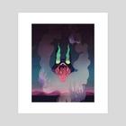 gatekeeper 2 - Art Print by alexis lim