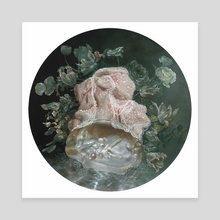 Portrait of an Irregular Pearl  - Canvas by Nicole Duennebier