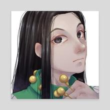 """Illumi Zoldyck - Canvas by Density Kind """"densukii"""" Empleo"""