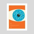 IYC Atomise (John Dalton) - Art Print by Simon C Page