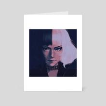 Cruella fanart - Art Card by Endinsy