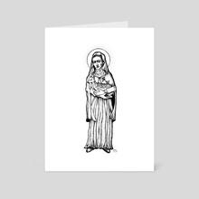 Saint Frida - Art Card by Emmi Eriksson