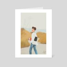 "iKON B.I ""Return"" - Art Card by milkyopi"