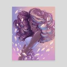 Mineral  - Canvas by Krista Lynn