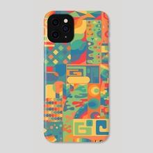 Collage de colores - Phone Case by Leswus Graphics Leswus Graphics