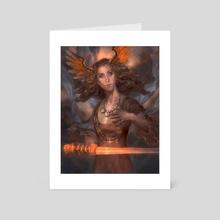 Valkyrie - Art Card by Lynaiss Art