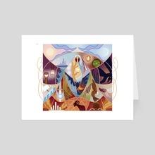 (Valaquenta) Vaire - Art Card by Cassandra McLean
