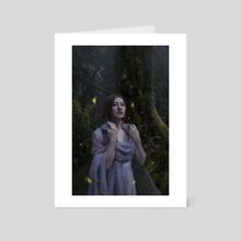 Fireflies - Art Card by Sara Winters