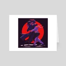 let's TANGO! - Art Card by Sky Kusunoki