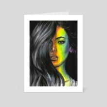 Rainbow - Art Card by Olesya Umantsiva