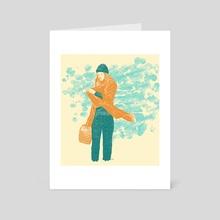 Untitled_2 - Art Card by osamu watanabe