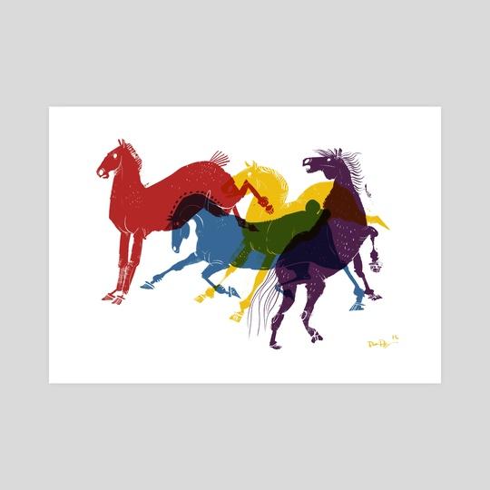 Pride Ponies by Devon Bragg