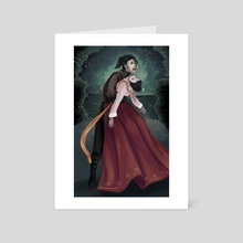 Dying Love - Art Card by Natalie Lucht