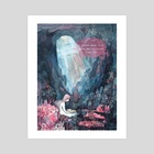 The Reading place - Art Print by Marni Walker