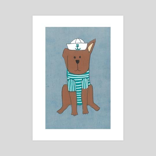 Sailor Dog by Tanya Doodles