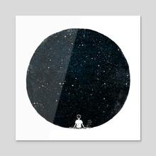 Stars - Acrylic by Oil Little