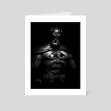 Batman (Greg Staples) - Art Card by Craig Stirling