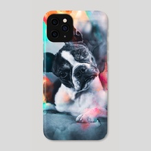 Boston Terrier - Phone Case by Visuals Artwork