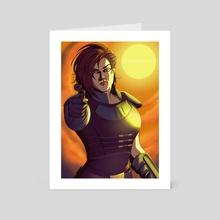 Cara Dune - Art Card by mollythemole
