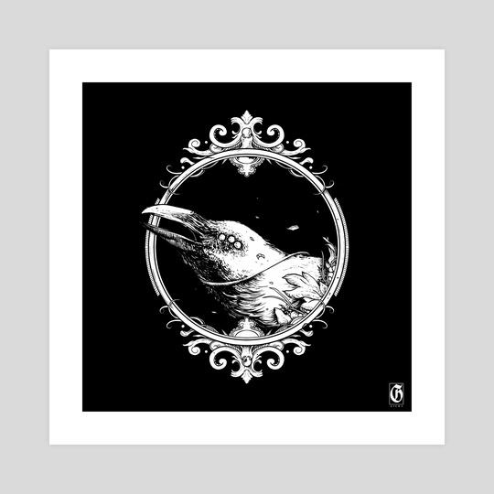 Ornate Crow | Edition I by Kacper  Gilka