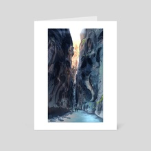 The Narrows 1 - Art Card by Em Trapani