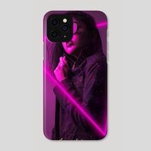 NEON MODEL - Phone Case by Juan Antonio